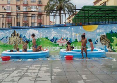 Hora de piscina
