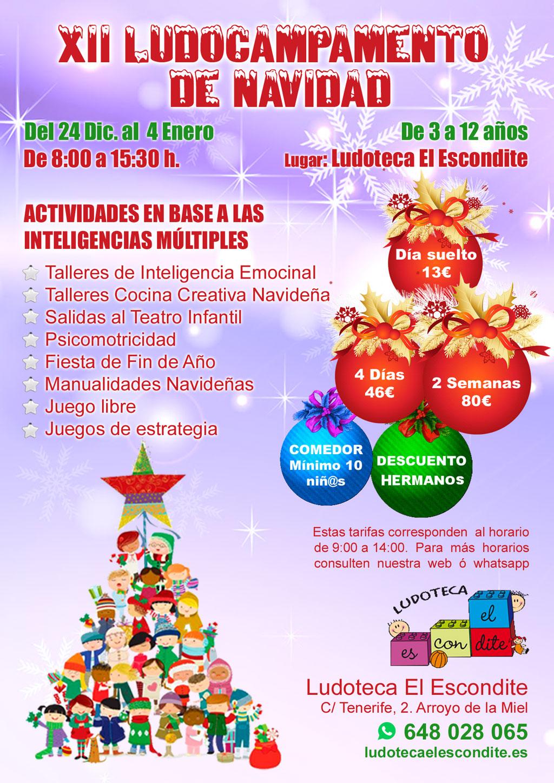 Campamento de Navidad 2018 - Organiza Ludoteca El Escondite